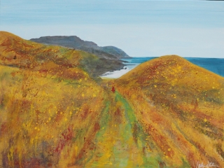 Based on the walk from Fletcher Bay at the tip of the Coromandel, New Zealand, the year of drought 2012.