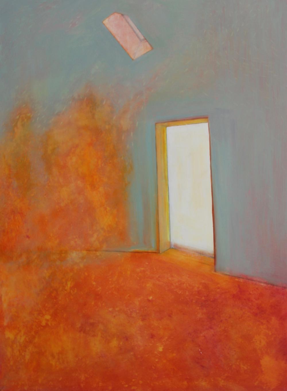 Door Way. Oil on canvas. 76 x 101 x 2 cm.